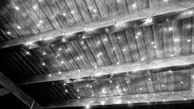 Zwart-wit lichten Royalty-vrije Stock Foto's