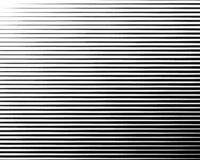 Zwart-wit Lijn halftone patroon met gradiënteffect Horizontale strepen Vector illustratie royalty-vrije illustratie
