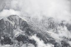 Zwart-wit Majella Nationaal Park - royalty-vrije stock afbeelding