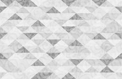 Zwart Wit Marmeren Driehoekspatroon Stock Foto