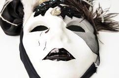Zwart & wit masker Royalty-vrije Stock Afbeelding