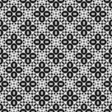 Zwart-wit naadloos patroon Royalty-vrije Stock Fotografie