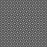 Zwart-wit naadloos patroon stock afbeeldingen
