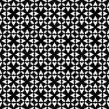 Zwart-wit naadloos patroon royalty-vrije stock foto's