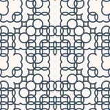 Zwart-wit naadloos patroon stock illustratie