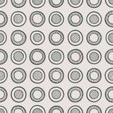 Zwart-wit naadloos patroon vector illustratie