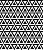 Zwart-wit naadloos patroon Stock Foto's