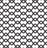 Zwart-wit naadloos patroon Royalty-vrije Stock Afbeelding