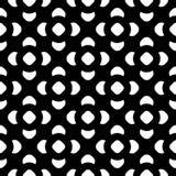 Zwart & wit naadloos patroon, zwart-wit bloementextuur Royalty-vrije Stock Foto