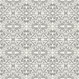 Zwart-wit patroon Stock Afbeelding