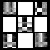Zwart-wit patroon als achtergrond royalty-vrije stock foto's