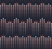 Zwart-wit patroonzwarte en white2 Stock Illustratie
