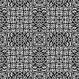 Zwart-wit pattern_5 royalty-vrije illustratie