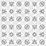 Zwart-wit regelmatig decor Stock Afbeeldingen