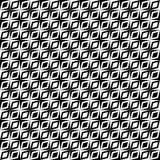 Zwart-wit retro op patroon royalty-vrije illustratie