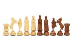 Zwart-wit schaak Stock Fotografie