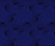 Zwart-wit shell patroonreeks Royalty-vrije Stock Foto
