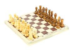Zwart-wit spel Stock Afbeelding