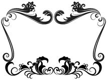 Zwart-wit uitstekend frame Royalty-vrije Stock Fotografie