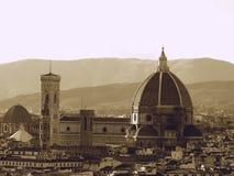 Zwart-wit van Florence Stock Afbeelding