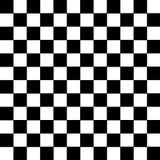 Zwart-wit van het Vierkantenpatroon pictogram als achtergrond groot voor om het even welk gebruik Vector eps10 Royalty-vrije Stock Foto