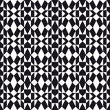 Zwart-wit Volkspatroon Royalty-vrije Stock Foto's