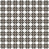 Zwart Witrussisch heilig etnisch ornament, naadloos patroon Vector illustratie Sloveens Traditioneel Patroonornament Royalty-vrije Stock Afbeelding