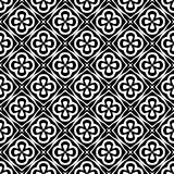Zwart-witte abstracte achtergrond stock foto's