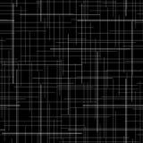 Zwart-witte abstracte achtergrond de textuur van de plaidstof Willekeurige lijnen Naadloos patroon Royalty-vrije Stock Fotografie