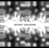 zwart-witte abstracte achtergrond in driehoek m Royalty-vrije Stock Afbeeldingen