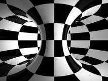 Zwart-witte abstractie Royalty-vrije Stock Afbeeldingen