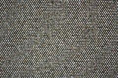 Zwart-witte achtergrond, oppervlakte van oude stof royalty-vrije stock afbeeldingen