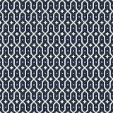 Zwart-witte Arabische vectorachtergrond Zwart-wit Islamitisch naadloos patroon Traditie Aziatisch geometrisch ornament Stock Fotografie