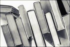 Zwart-witte boeken Royalty-vrije Stock Foto's