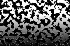 Zwart-witte camouflage Royalty-vrije Stock Foto's