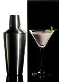 Zwart-witte cocktail Royalty-vrije Stock Foto