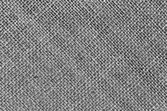 zwart-witte de doektextuur van de Jutezak Royalty-vrije Stock Afbeeldingen