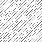 Zwart-witte diagonale streepachtergrond Stock Fotografie
