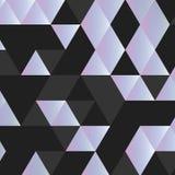 Zwart-witte Driehoek Royalty-vrije Stock Foto