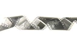 Zwart-witte Film in de spiraal Stock Foto