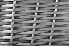 Het Patroon van het Weefsel van de mand Stock Fotografie