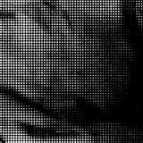 Zwart-witte gestippelde achtergrond Royalty-vrije Stock Foto's