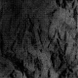 Zwart-witte gestippelde achtergrond Royalty-vrije Stock Foto