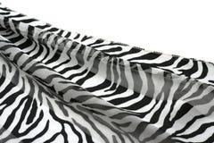 Zwart-witte gestreepte stof Royalty-vrije Stock Afbeelding