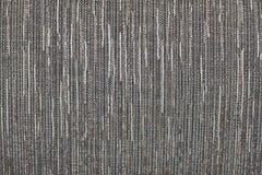 Zwart-witte gestreepte tweedachtergrond Royalty-vrije Stock Foto