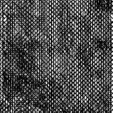 Zwart-witte Grunge-Stof Slordige Achtergrond Perfectioneer voor Affiche stock illustratie