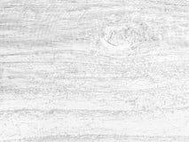 Zwart-witte houten textuur Stock Foto