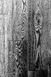 Zwart-witte houten textuur oude panelen als achtergrond Stock Fotografie
