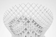 Zwart-witte indruk van Metropol-Parasol Royalty-vrije Stock Afbeeldingen