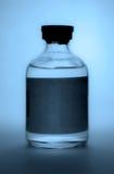 Zwart-witte injectieampule royalty-vrije stock afbeeldingen